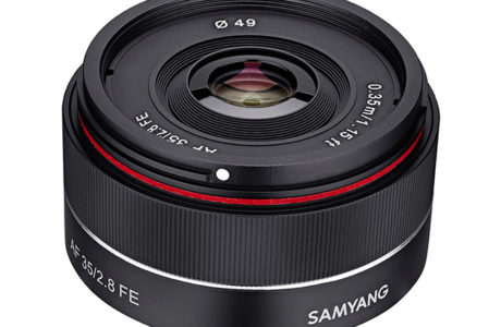 Samyang 35mm for Sony